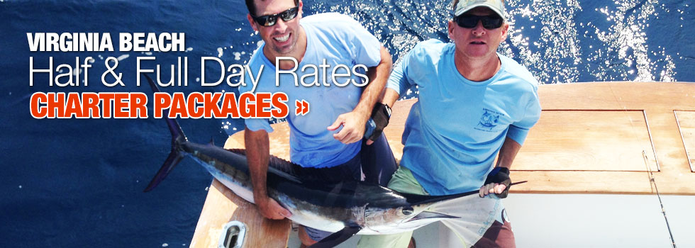 Full & Half Day Fishing Charter Packages