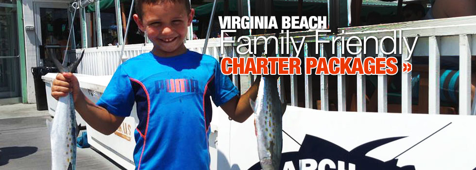 Family Friendly Fishing Charter Virginia Beach